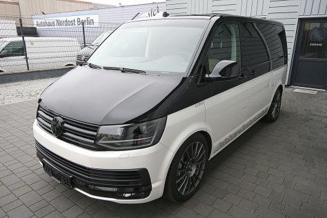 VW T5 Multivan mit HGP-Tuning zu verkaufen
