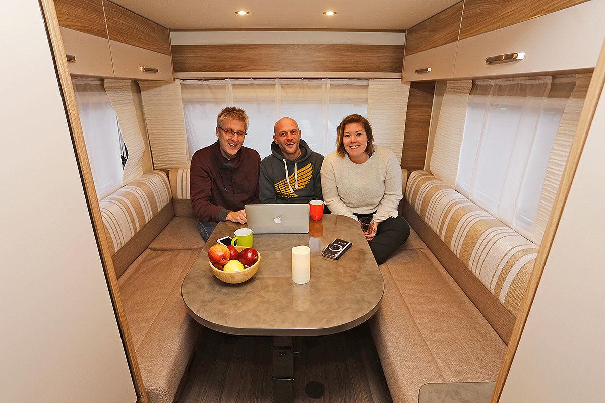 Bürster, Dethleffs, Hobby: Familien-Caravans im Test