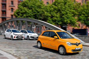 Renault Twingo, Kia Picanto, VW Up: Test