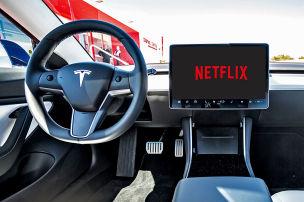 Netflix und YT bald auch im Tesla