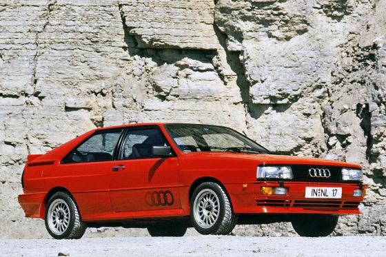 Klassiker des Tages: Audi Coupé B2