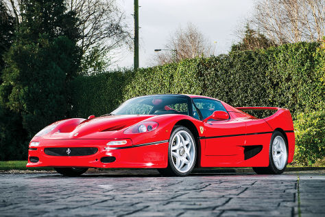Ferrari F50 Leistung Preis Autobild De