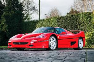 Klassiker des Tages: Ferrari F50