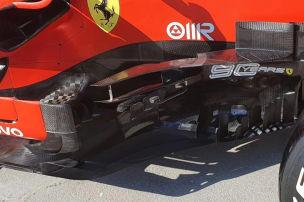 Neue Boomerang-Bleche für Vettel