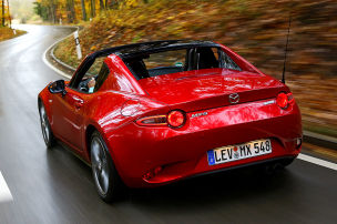 Mazda MX-5 RF G 160: Dauertest
