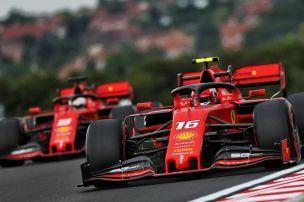 Leclerc fünfmal in Folge vor Vettel