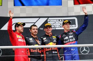 Zweites Podium für Toro Rosso
