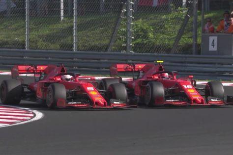 Vettel gibt sich fünf von zehn Punkten