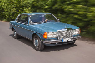 Eleganter Chrom-Benz mit 185 PS