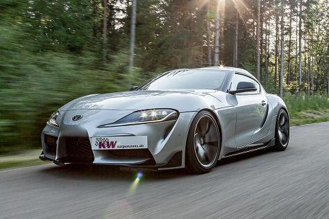 Toyota Supra Tuning: KW Automotive Variante 3