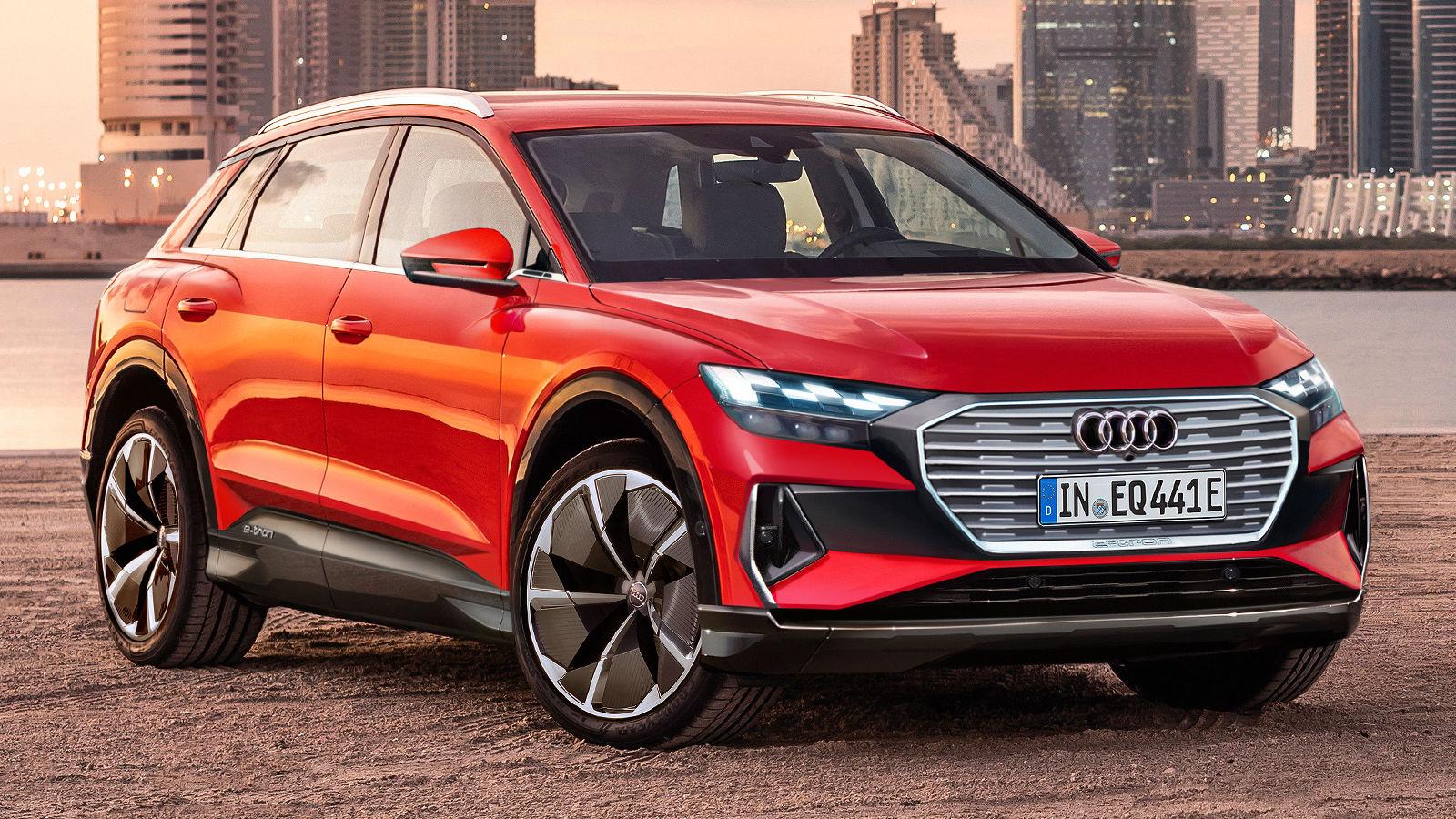 Audi Q4 e-tron (2020): Neuvorstellung - SUV - Elektro ...