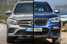 Duell hinterm Deich Mercedes GLC vs. BMW X3