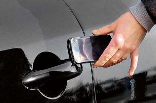 Das Handy als Autoschl�ssel