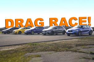 Kompakte im Drag-Race