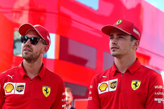 Ferrari im Abtriebssumpf