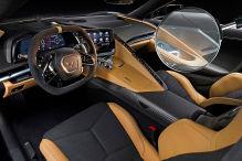 Corvette mit Rekord-Anlage