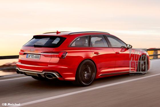 Ist das der Audi RS 6
