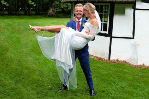 Magnussen heiratet seine Louise