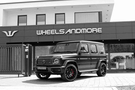 Mercedes-AMG G 63 Tuning: Wheelsandmore