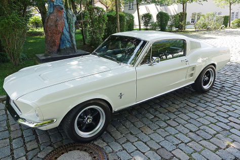 Getunter Ford Mustang Fastback im Topzustand