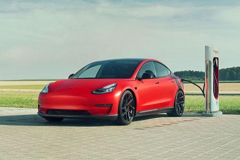 Tesla Model 3 von Novitec