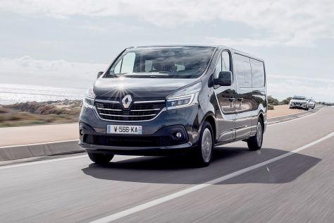 Renault Trafic Spaceclass 2019 Test Preis Motoren