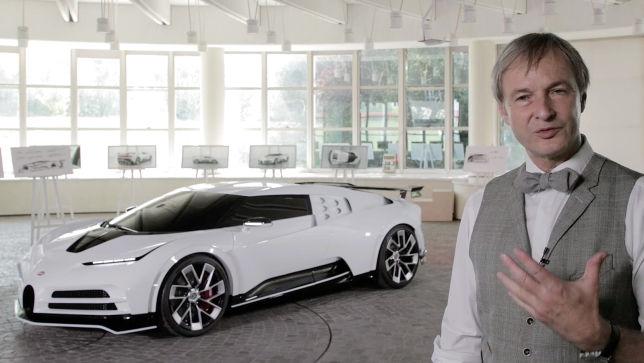 Bugattis Chefdesigner über den Centodieci