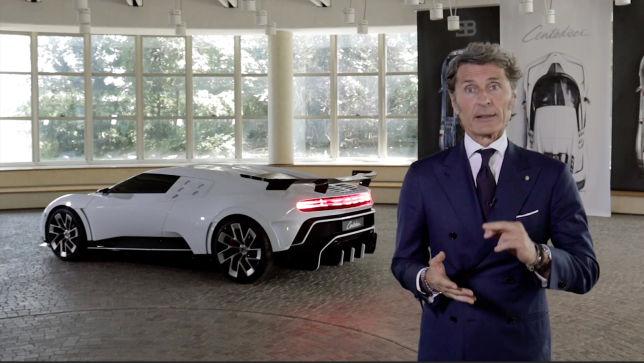 Bugattis Präsident über den Centodieci