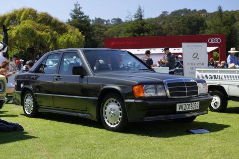Mercedes 190 E 2.3-16: Sport-Benz bei The Quail