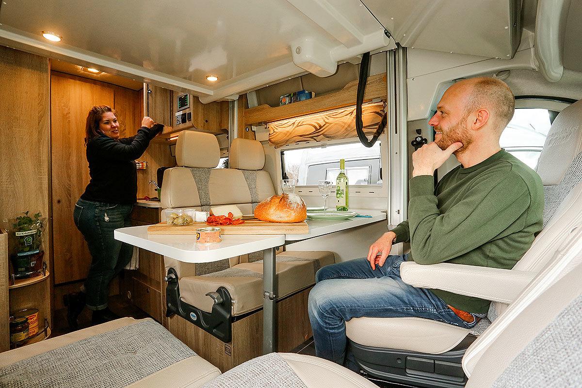 Wohnmobil-Test: Kastenwagen mit Heckbädern