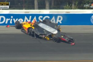 IndyCar: Massenunfall