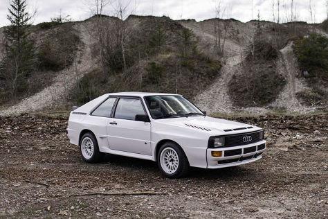 Audi Sport Quattro im Originalzustand