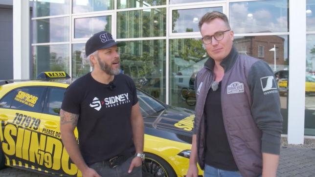 Rallye-Vorbereitung mit Sidney
