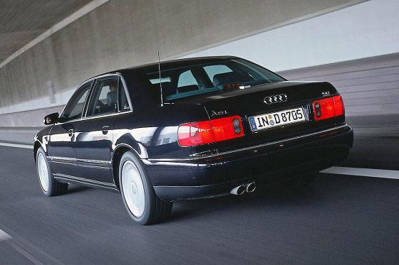 Audi A8 W12: Klassiker des Tages