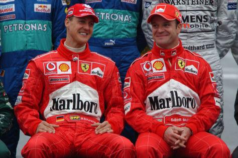 Barrichello fährt 5-Liter-V8-Formelserie