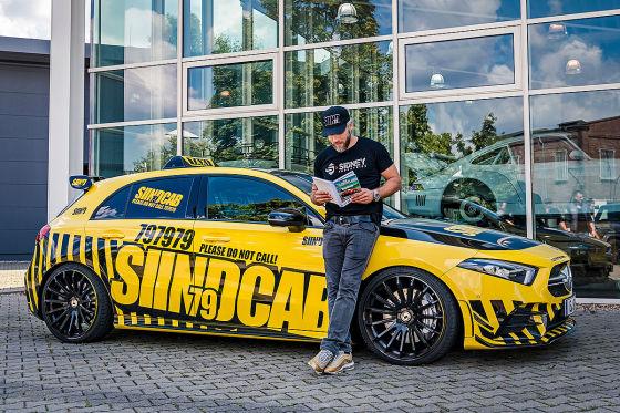 Darum streichelt Sidney neue Autos