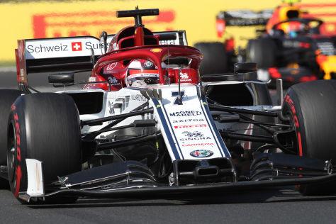 Alfa-Tier Räikkönen verhindert Schmach