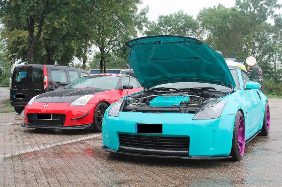 Soko Autoposer: VW Golf mit Airride