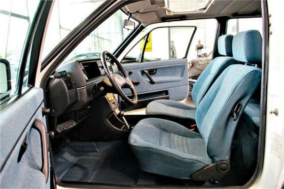 VW Golf 2 CL mit 49.900 Kilometern