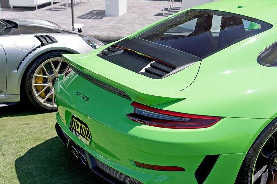 Porsche 911 GT3 RS mit gekapptem Spoiler