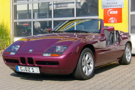 BMW Z1: kaufen, Motor, Neupreis, Roadster, PS, Sechszylinder