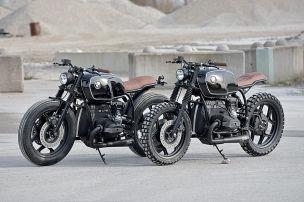Tuner Walzwerk baut alte BMW-Bikes um