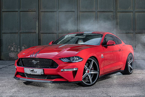 """Ford Mustang Tuning: Wolf Racing """"One of 7"""""""