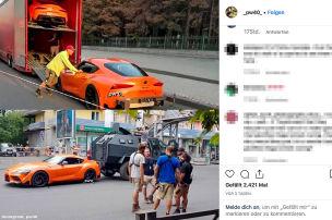 Rückkehr des orangefarbenen Supra