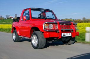 Offroad-Cabrio mit Wüsten-Charme