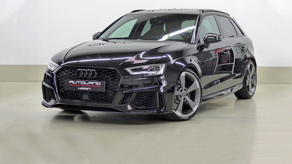 Audi RS3 mit HGP-Tuning unc niedriger Laufleistung