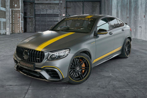 Mercedes GLC 63 S Tuning: Manhart Leistungs-Plus