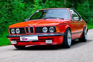 BMW 6er E24: KW-Fahrwerk