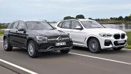 BMW X3 gegen Mercedes GLC: Diesel-Test