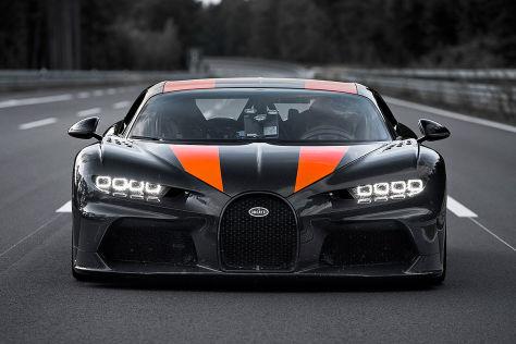 Bugatti Chiron: Rekordfahrt
